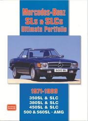 Cover of: Mercedes-Benz SLs & SLCs 1971-1989 Ultimate Portfolio | R. M. Clarke