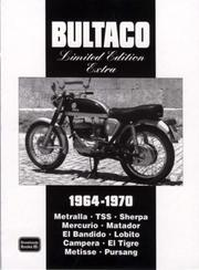 Cover of: Bultaco Limited Edition Extra 1964-1970 | R.M. Clarke