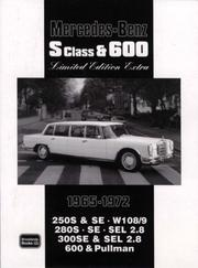 Cover of: Mercedes-Benz S Class & 600 Limited Edition 1965-1972 | R. M. Clarke