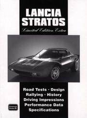 Cover of: Lancia Stratos Limited Edition Extra | R. M. Clarke