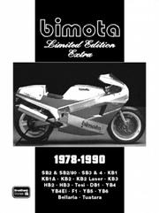 Cover of: Bimota Limited Edition Extra 1978-1990 | R. M. Clarke