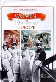 Cover of: Women in 19th Century Europe (Other Half of History) | Fiona MacDonald