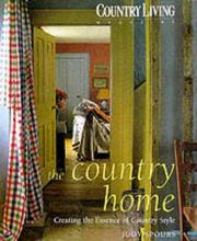 "Cover of: ""Country Living"" (Country Living) by Judy Spours"