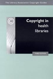 Cover of: Copyright in health libraries | Sandy Norman