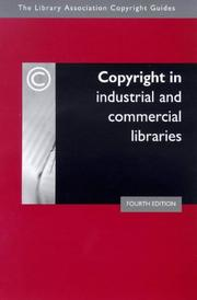 Cover of: Copyright in industrial and commercial libraries by Sandy Norman