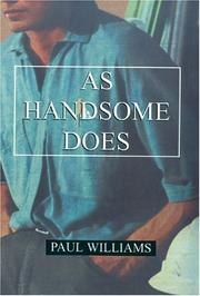 Cover of: As Handsome Does by Paul Williams