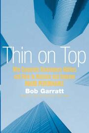 Cover of: Thin on Top | Bob, Garratt