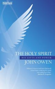 Cover of: The Holy Spirit by John Owen