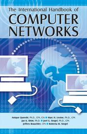 Cover of: The International Handbook of Computer Networks | Jae K. Shim