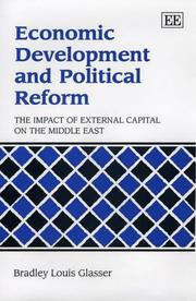 Cover of: Economic Development and Political Reform | Bradley Louis Glasser