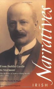 Cover of: From Dublin Castle to Stormont | Andrew Philip Magill