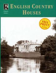 Cover of: Francis Frith's English country houses by Martin Dunning