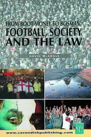 Cover of: Football Society & The Law | Mcardle
