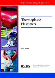 Cover of: Thermoplastic Elastomers Market | P. W. Dufton
