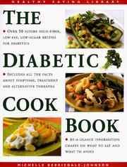 Cover of: Diabetic Cookbook (Healthy Eating Library) by Michelle Berriedale-Johnson