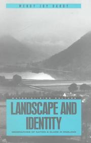 Cover of: Landscape and identity by Wendy Joy Darby