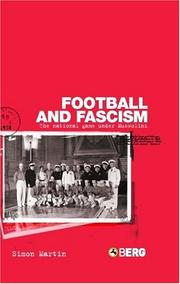 Cover of: Football and Fascism | Simon Martin