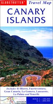 Cover of: Canary Islands Travel Map | Globetrotter
