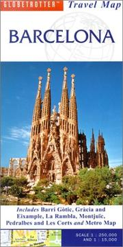 Cover of: Barcelona Travel Map | Globetrotter