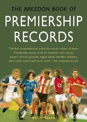 Cover of: The Breedon Book of Premiership Records | Brian Beard