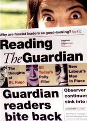 Cover of: Reading the Guardian | The Farringdon Therapy Group