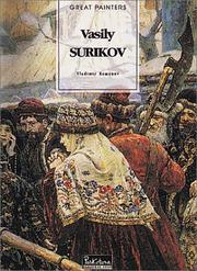 Cover of: Vasily Surikov | Vladimir Kemenov