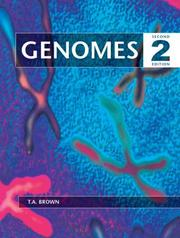 Cover of: Genomes 2 | T.A. Brown