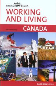 Cover of: Working and Living Canada (Working & Living - Cadogan) | Patrick Twomey