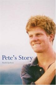 Cover of: Petes Story | Rachel Jackson