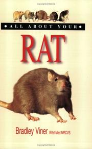 Cover of: All about Your Rat (All About Your....) | Bradley Vidner