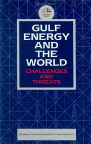 Cover of: Gulf Energy and the World | Emirates Center for Strategic Studies and Research