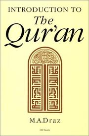 Cover of: Introduction to the Qur'an | Mohammad Abd Allah Draz