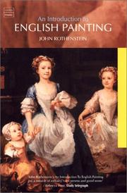 Cover of: An Introduction to English Painting | John Rothenstein