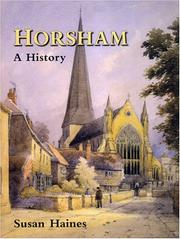 Cover of: Horsham | Susan Haines