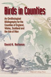 Cover of: Birds in Counties | David K. Ballance