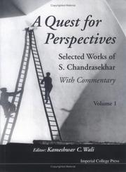 Cover of: Quest For Perspectives | Kameshwar C. Wali