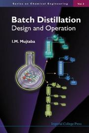 Cover of: Batch Distillation | I. M. Mujtaba