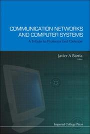 Cover of: Communication Networks And Computer Systems (Communications and Signal Processing) | Javier A. Barria