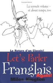 Cover of: Let's Parler Franglais Again! by Miles Kington