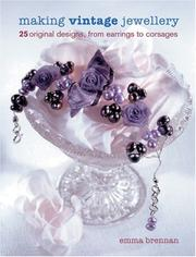 Cover of: Making Vintage Jewellery | Emma Brennan