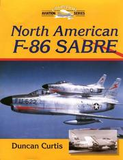 Cover of: North American F-86 Sabre | Duncan Curtis