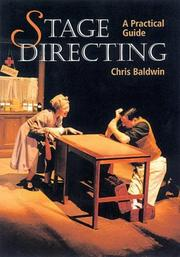 Cover of: Stage Directing | Chris Baldwin