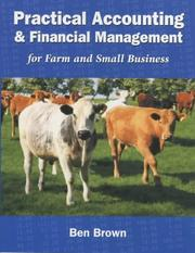 Cover of: Practical Accounting for Farm and Rural Business | Ben Brown