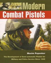 Cover of: Modern Combat Pistols by Anthony G. Williams