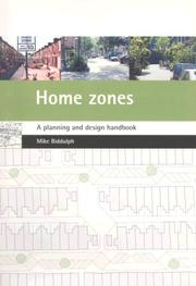 Cover of: Home Zones | Mike Biddulph