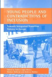 Cover of: Young People and Contradictions of Inclusion | Andreu Lopez Blasco