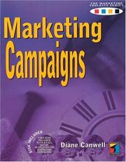 Cover of: Marketing campaigns by Diane Canwell