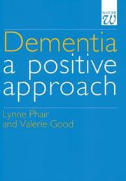 Cover of: Dementia by Lynne Phair
