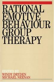 Cover of: Rational Emotive Behaviour Group Therapy | Windy Dryden