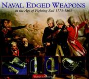 Cover of: Naval Edged Weapons | Sarah C Wolfe